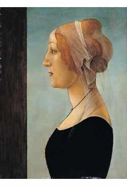 Sandro Botticelli, Portrait of a Young Woman