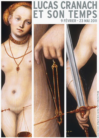 Lucas Cranach All�gorie de la Justice, 1537, Collection priv�e