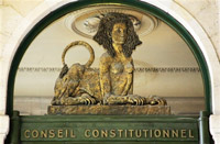 Illustration : Le conseuil constitutionnel