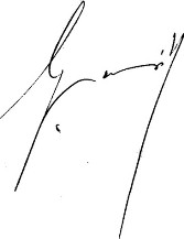 Signature de Gaston Monnerville