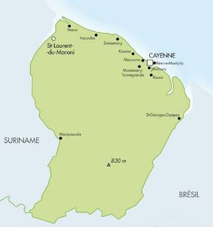 Guyane - source ministère outre-mer