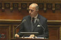 Laurent Fabius � S�nat