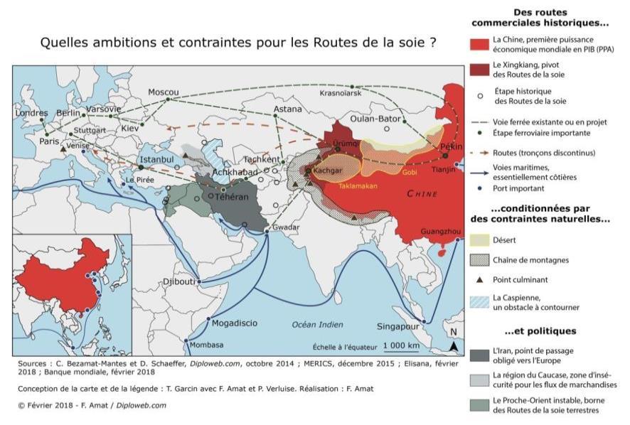 Pour La France Les Nouvelles Routes De La Soie Simple Label Economique Ou Nouvel Ordre Mondial